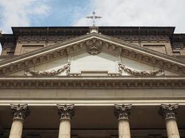 San filippo neri kyrka i Turin foto