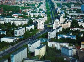 flygfoto över berlin foto