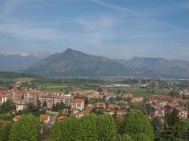 utsikt över rivoli, Italien foto