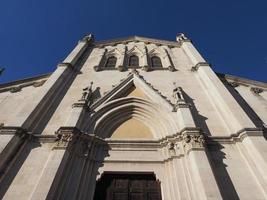 san pellegrino laziosi kyrka i Turin foto