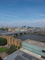 Themsen i London foto