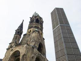 bombade kyrkan, berlin foto