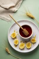 ovanifrån honungsbanan foto