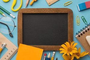 kreativa komposition lärar dag element foto
