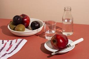världens matdagarrangemang foto