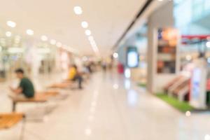 abstrakt oskärpa vackra lyxiga köpcentrum foto