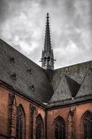 vintage historisk kristendom tempel kyrka foto