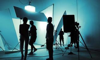skjutstudio för fotograf och kreativ konstchef foto