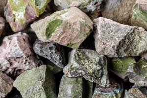 krossad sten abstrakt texturerad bakgrund foto