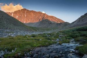 torreys peak sunrise foto