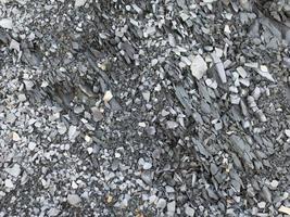 bergsten med grå stenar, kaukasus. bakgrund, närbild foto