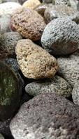 abstrakt foto med närbild av stenföremål