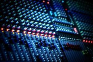 musikutrustning etnetrainment ljud dj mixer foto