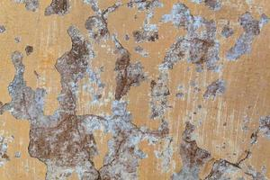 måla spricka betongvägg textur bakgrund. foto