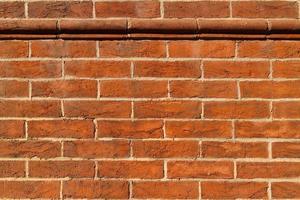 antik tegelvägg textur bakgrund. foto