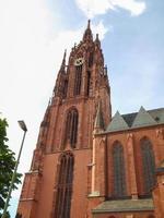 frankfurter dom katedralen i frankfurt foto