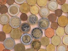 euromynt, Europeiska unionens bakgrund foto