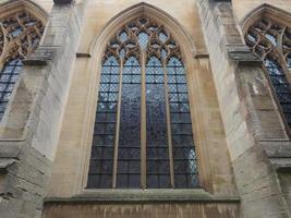 lilla st Mary kyrkan i Cambridge foto