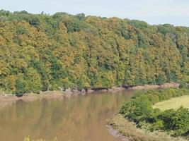 utsikt över landsbygden i Chepstow foto