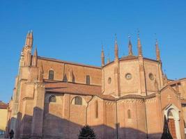 Chieri -katedralen, Italien foto