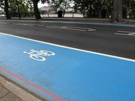 cykelfält tecken foto