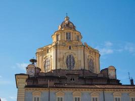 San Lorenzo -kyrkan i Turin foto