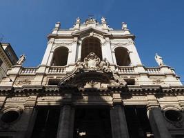 ss annunziata kyrka i Turin foto
