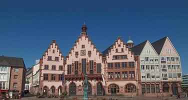 roemerberg i frankfurt foto
