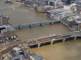 Flygfoto över London foto