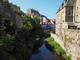 Dean Village i Edinburgh foto