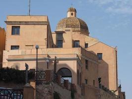 casteddu betyder slottskvarter i Cagliari foto