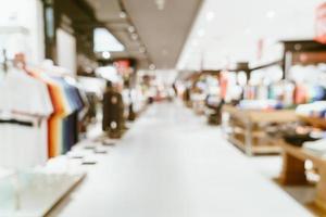 abstrakt suddighet lyxigt köpcentrum och detaljhandel för bakgrund foto