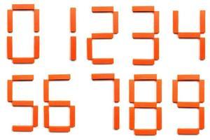 digitala siffror foto