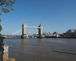 tornbron i London foto