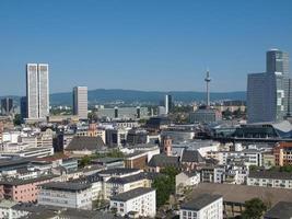 Flygfoto över Frankfurter foto