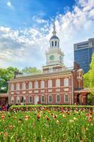 självständighetshall i philadelphia, pennsylvania foto