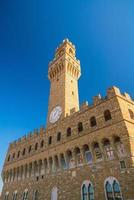 palazzo vecchio i florens italien foto