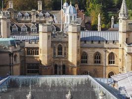 flygfoto över Cambridge foto