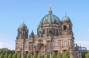 berliner dom i berlin foto