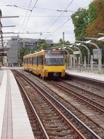 spårvagnståg i Stuttgart foto