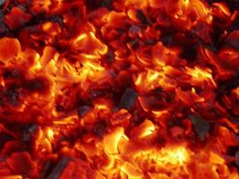 flammande eldbakgrund foto