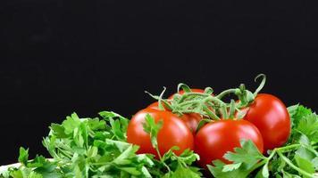 ekologisk frisk tomatgrönsak foto