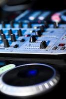dj mixer musikblandningsmaskin foto