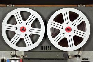 vintage analog retrobandspelare foto