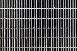 abstrakt arkitekturdesign av järnstaket foto
