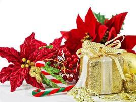 jul dekoration bakgrund foto