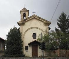 san rocco saint roch kyrka i settimo torinese foto