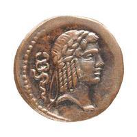 romersk mynt foto