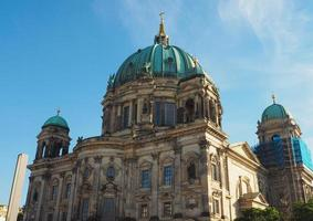 berliner domkatedralen i berlin foto