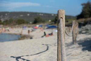 es calo beach i formentera sommaren 2021. foto